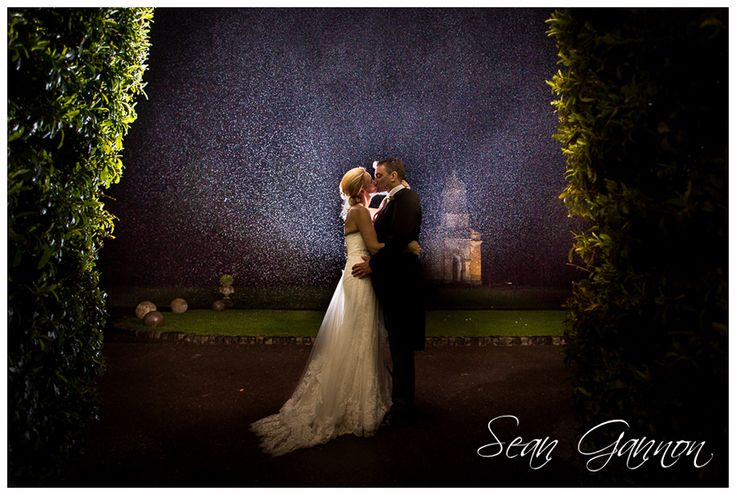 Fantastic shot of a couple taken at the stunning Babington House by Wedding Photographer Sean Gannon - we LOVE it!!