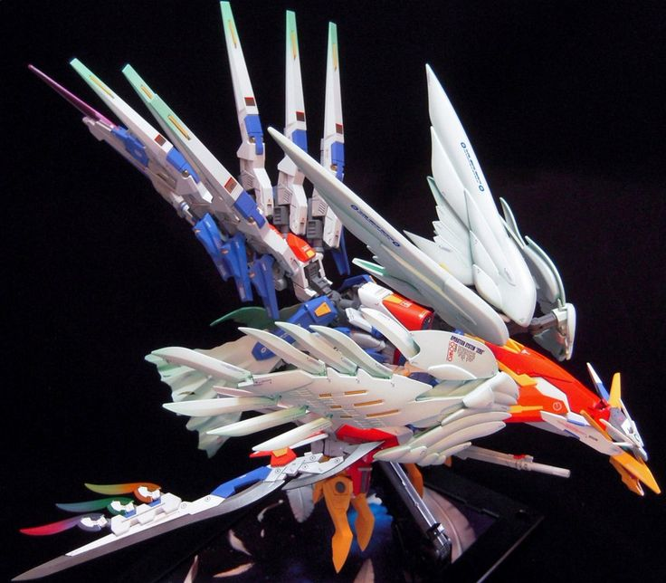 GUNDAM GUY: RG 1/144 Wing Gundam Zero Phoenix - Customized Build