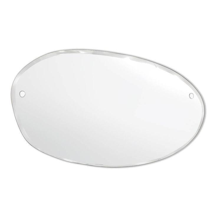 Flacher Spiegel – Oval-Waagerecht 100×60cm M Nuance Teenager Kind- Große Auswahl an Design auf Smallable, dem Family Concept Store – Über