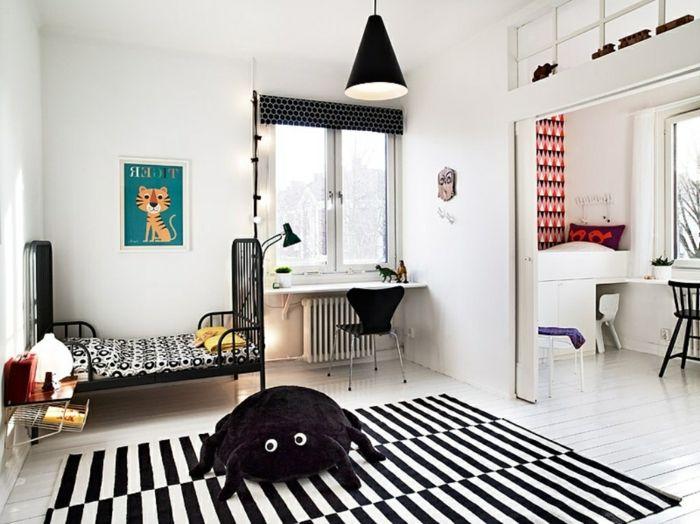 Die besten 25+ gestreifter Stuhl Ideen auf Pinterest - jugendzimmer schwarz wei