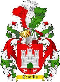 Resultado de imagen para escudo original del apellido castillo