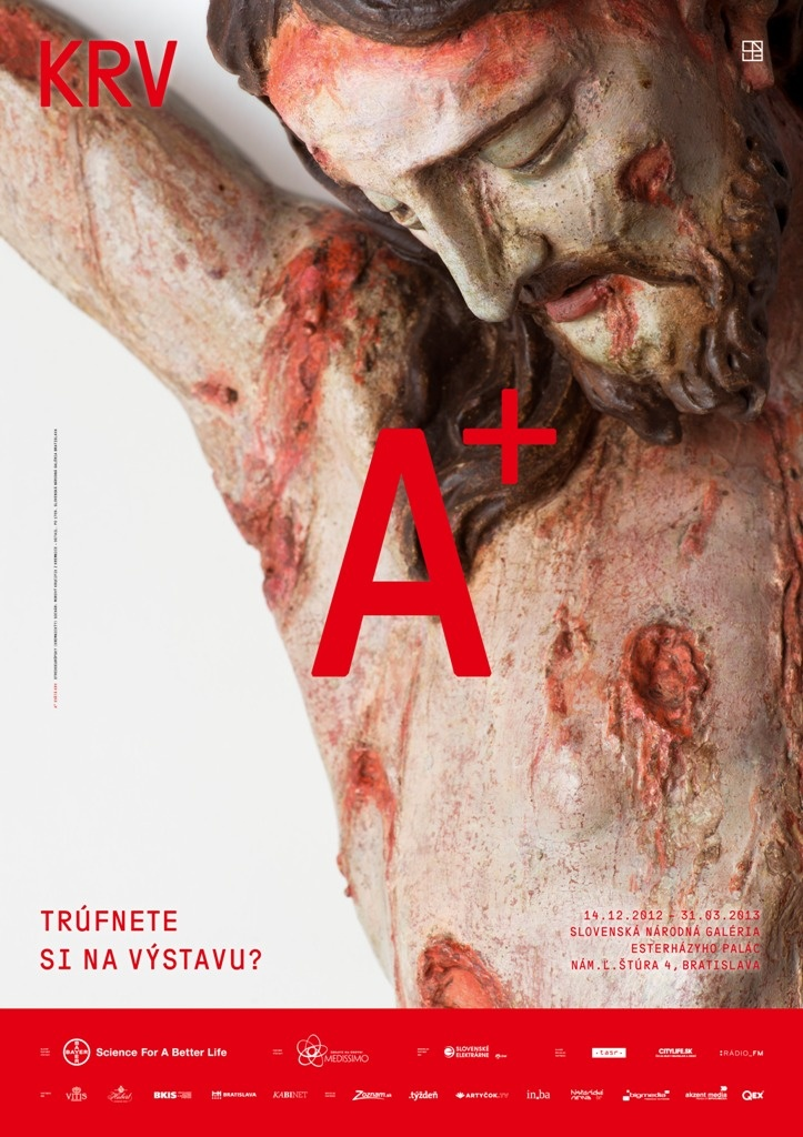 New exhibition BLOOD in Slovak National Gallery 14.12.-31.3.2013