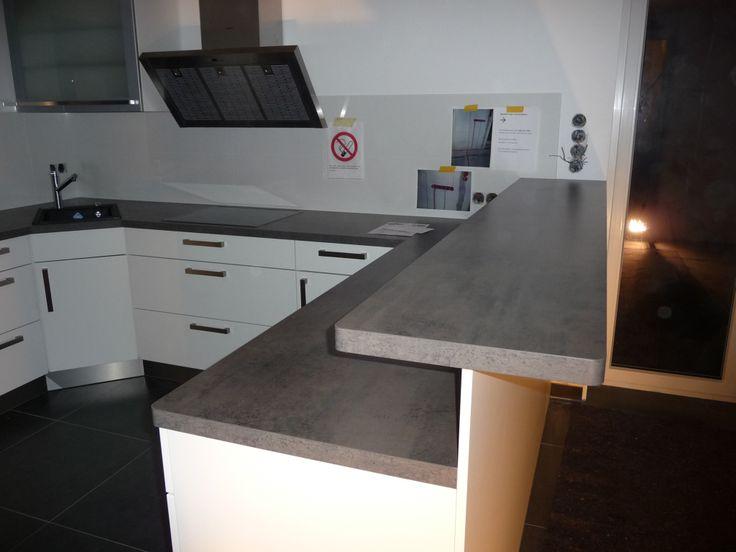 beautiful küche mit tresen contemporary - home design ideas
