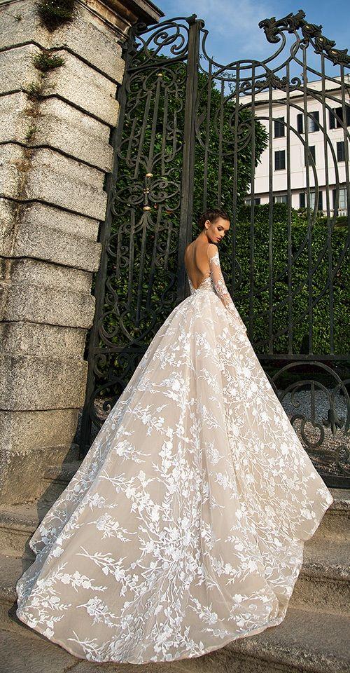 Milla Nova Bridal 2017 Wedding Dresses azalia3 / http://www.deerpearlflowers.com/milla-nova-2017-wedding-dresses/8/
