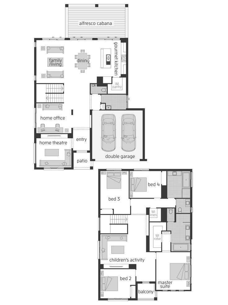 Huntingdale Floor plan