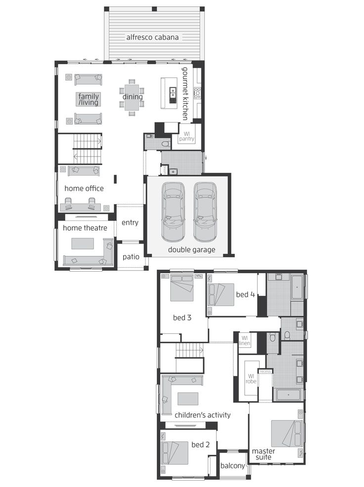 Huntingdale Floor plan