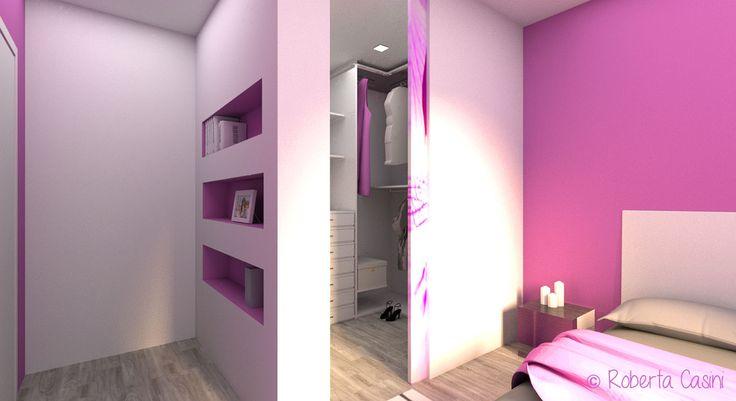 17 migliori idee su armadio per ragazza su pinterest - Armadio camera ragazza ...