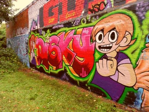 Scott Pilgrim Graffiti