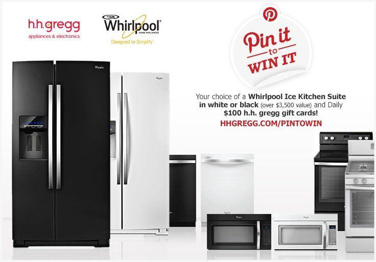 17 best contests images on pinterest - Hhgregg appliances home kitchen ...