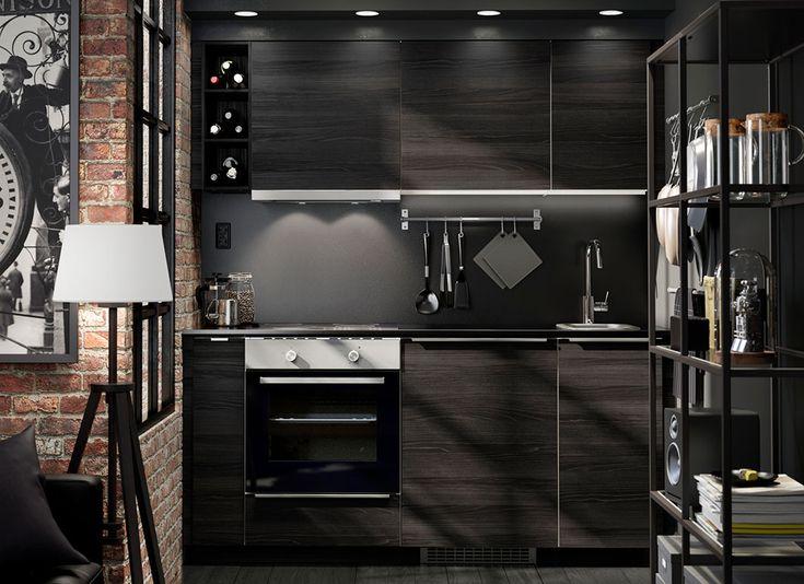 264 best IKEA Küchen - Liebe images on Pinterest Bouquets - ikea kuche schwarz weiss