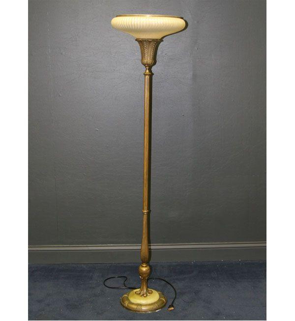 152 best art deco uplighters images on pinterest nest art deco art deco floor lamp aloadofball Choice Image