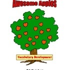 Awesome Apples was created by Betty Jo Evers to help students extend their vocabulary by using synonyms for common words students use most every da...