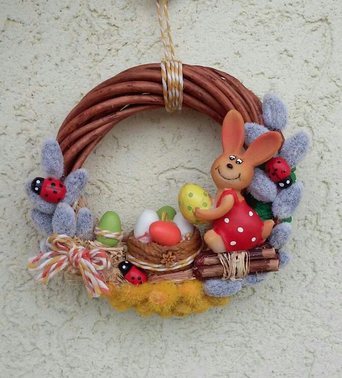 Húsvéti ajtódísz (Cs.T.)