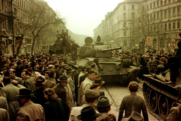 Budapest, Hungary, October 23, 1956
