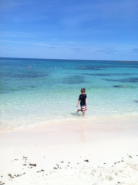 (Paradise Island, Bahamas)  Most amazing beach I have ever been to.