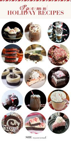 The Ultimate Peppermint Recipe Round-Up #SHEuncovered