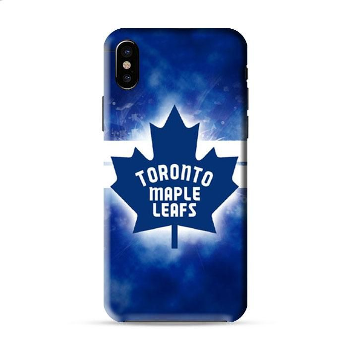 Toronto Maple Leafs Symbol Iphone X 3D Case Caseperson