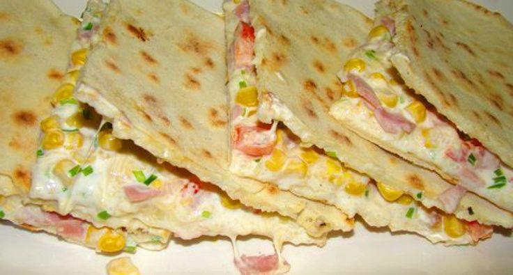Quesadillas recept két féle töltelékkel | APRÓSÉF.HU - receptek képekkel