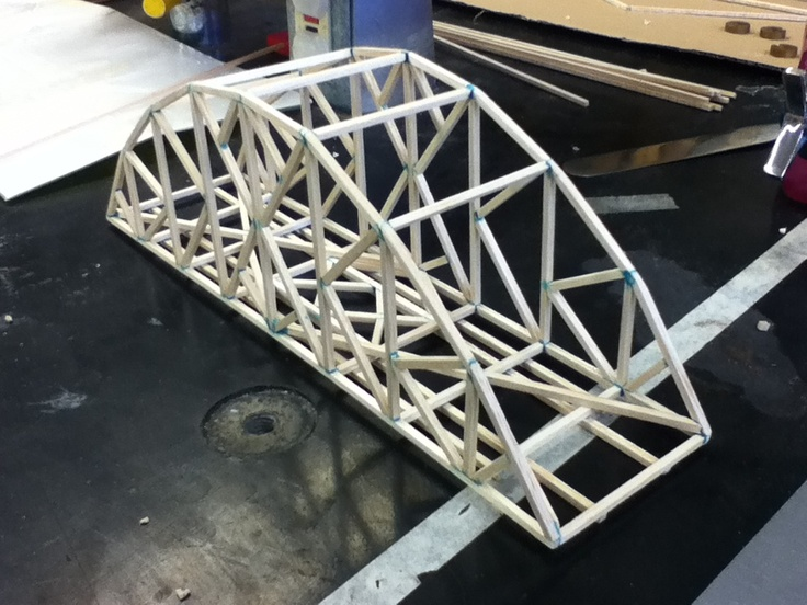How To Build A Balsa Wood Bridge Woodworking Projects