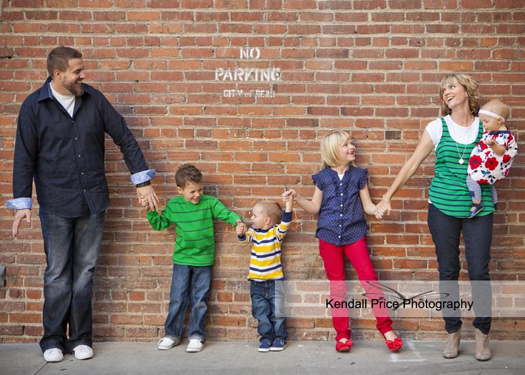 Urban family photo shoot ideas