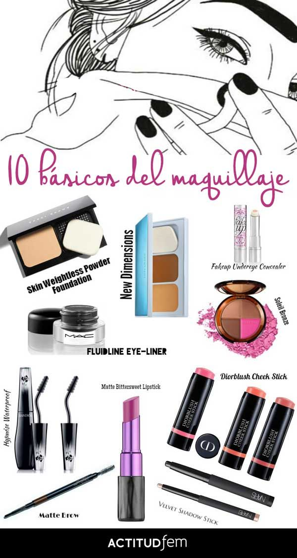 Basicos de maquillaje para invertir