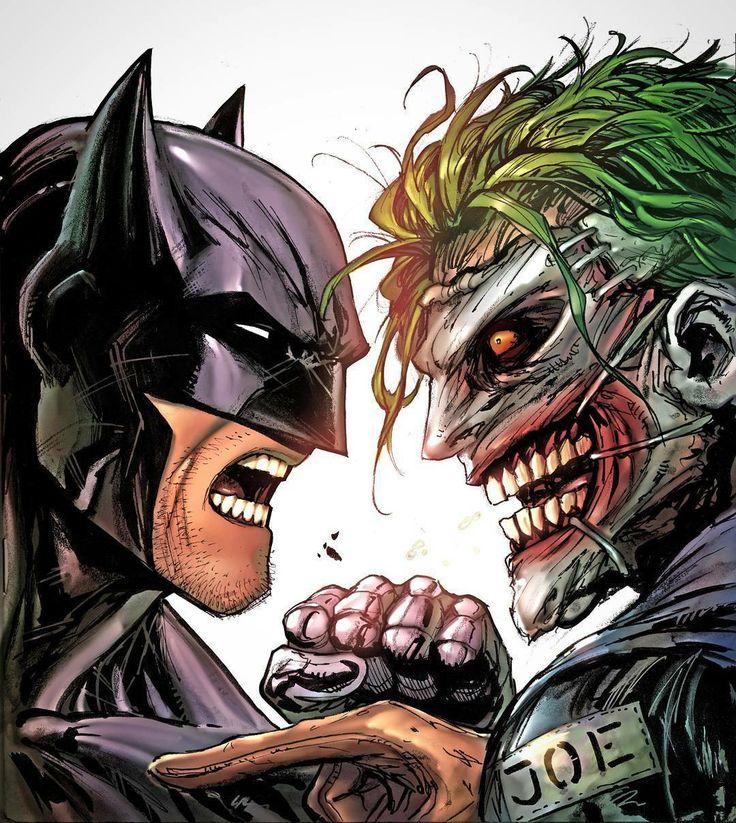 Batman vs. The Joker.........