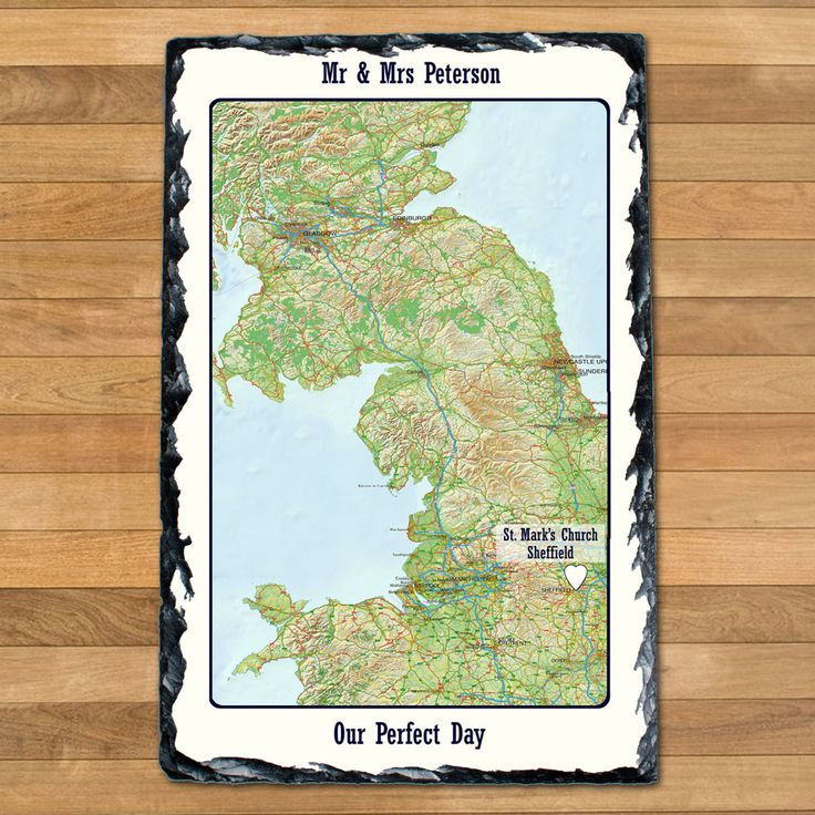 Personalised Special Places Slate Keepsake - yourgifthouse
