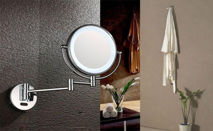 Crystal Led Mirror Light Bathroom Toilet Waterproof Home: Best 25+ Extendable Shaving Mirrors Ideas On Pinterest