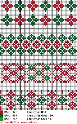 Barrados - Rosa Plaza - Picasa Web Albums - border cross stitch