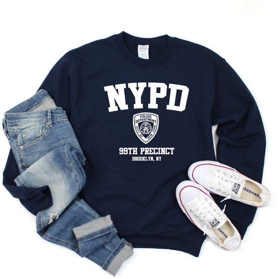 Brooklyn Nine-Nine NYPD 99th Precinct Sweatshirt, Brooklyn's 99th Precinct Shirt, NYPD Shirt, Brooklyn 99 T-Shirt, Tv Show Shirt