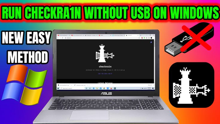 Checkra1n for windows how to run checkra1n without usb