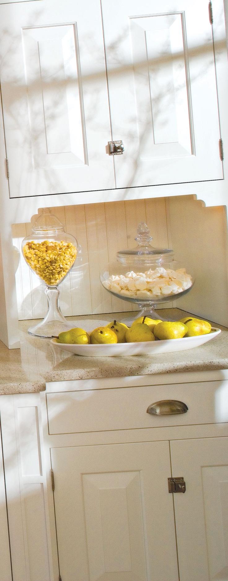 143 best images about kitchen remodel project on pinterest for Cottage style kitchen backsplash ideas