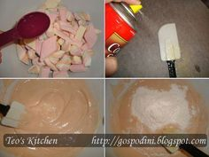 Fondant din marshmallows - Retete culinare by Teo's Kitchen