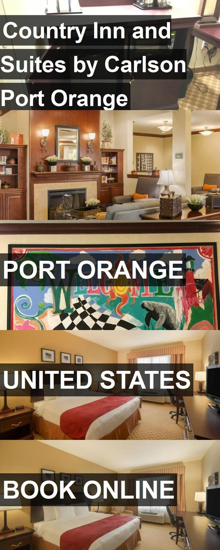 Hotel Country Inn and Suites by Carlson Port Orange in Port Orange, United States. For more information, photos, reviews and best prices please follow the link. #UnitedStates #PortOrange #travel #vacation #hotel