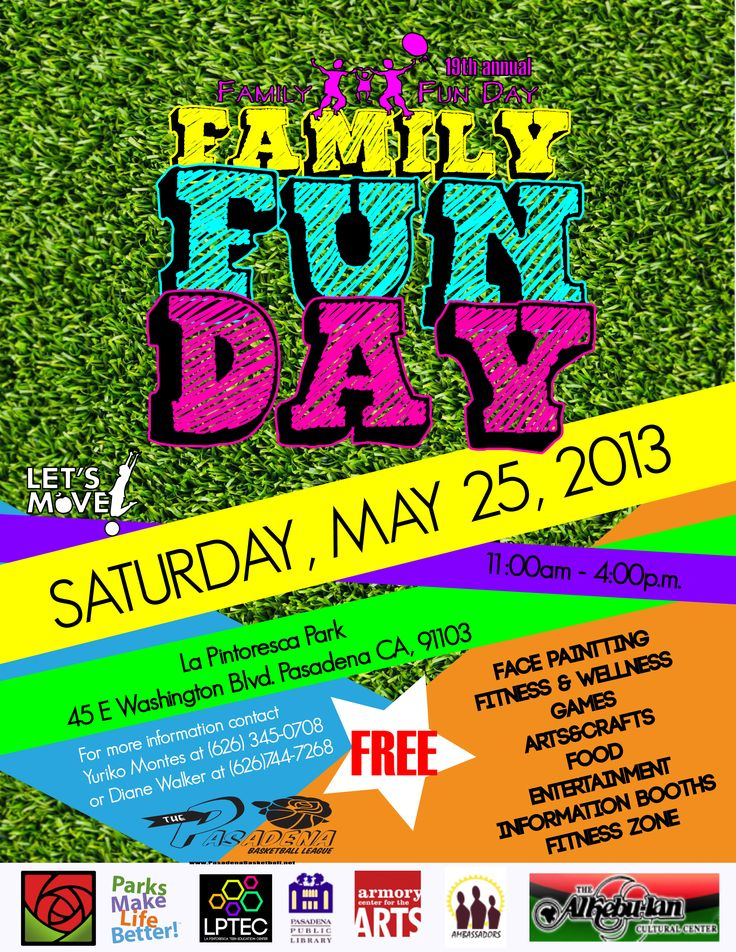 fun day flyer template download from coronetpublications With fun day poster template