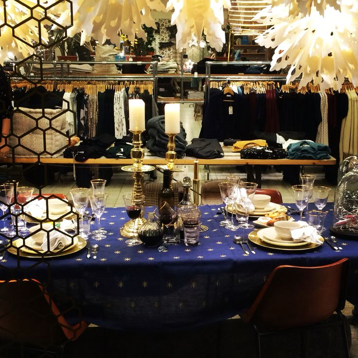Homeland Christmas window at Sissy-Boy. Styling by me.