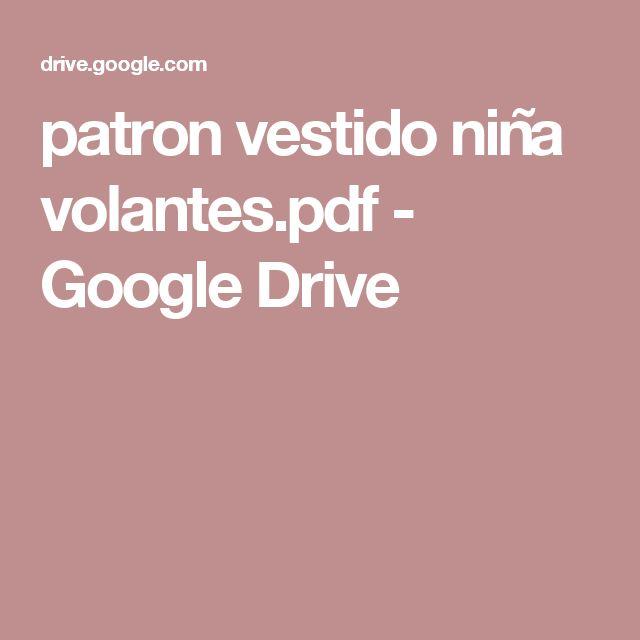 patron vestido niña volantes.pdf - Google Drive