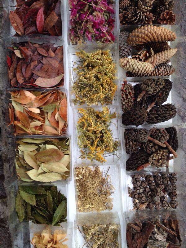 Natural materials presented beautifully