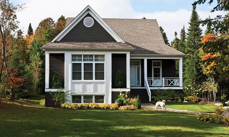 This residential project is using high-quality genuine wood rabbeted bevel siding and classic individual shingles