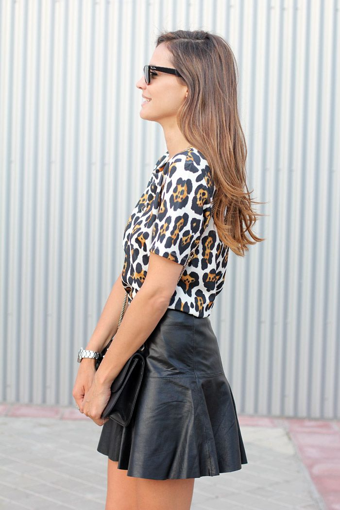 Animal print is a neutral in our book! Incorporate chic statement prints into your wardrobe because they'll never go out of style. Are you a fan of animal print tops?