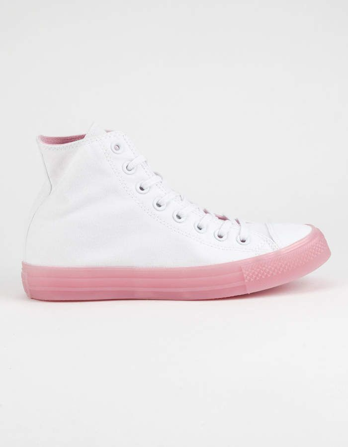 Chuck Taylor All Star Translucent Womens High Top Shoes ...