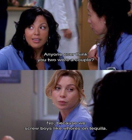 hehe this parts so funny. grey's anatomy