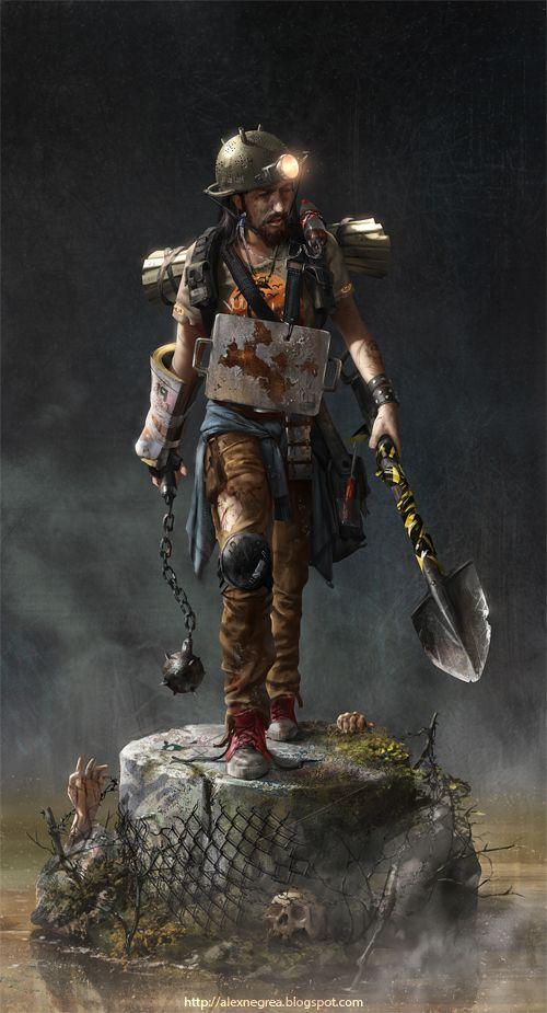 Zombie Hunter by alexnegrea.deviantart.com on @deviantART