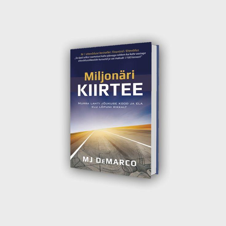 """M J DeMarco raamat"""" The Millionaire Fastlane """"nüüd eesti keeles juba septembris 2017. Telli endale """"Miljonäri kiirtee""""tasuta esimesed peatükid, et seejärel otsustada, kas sooviksid lugeda tervet raamatut. Mina olen oma tellimuse juba teinud ja ootan huviga raamatu ilmumist. Alati on igast raamatust midagi õppida. Tasuta peatükid saad tellida siit: https://ze267.isrefer.com/go/miljonari-kiirtee/netivanaema/"""