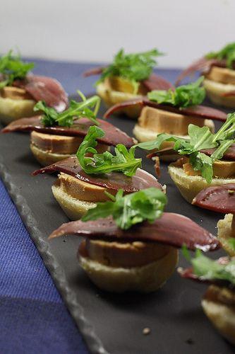 En attendant Noël #1 ... Mini burgers foie gras & magret fumé recettes de fetes 3 theme 21 apero