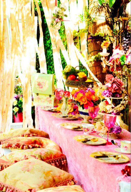 magical woodland tea party