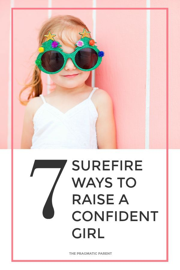 7 Surefire Ways to Raise a Confident Girl! Strong and confident girls are beautiful! Raise a Confident Daughter Who Has Positive Self-Esteem and Self-Confidence in Her Abilities, Mental Fortitude, Amongst Peers and Appreciation For Her Body's Strengths, Not Her Looks. Confidence Sets Kids Up For Lifelong Success. Girl Power!