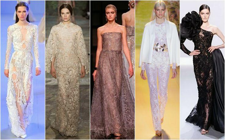 Lace - Beautifully Fierce!: Paris Haute Couture: Spring 2014.