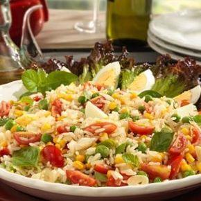 Salada de Arroz e Legumes - Receitas - UOL Comidas e Bebidas