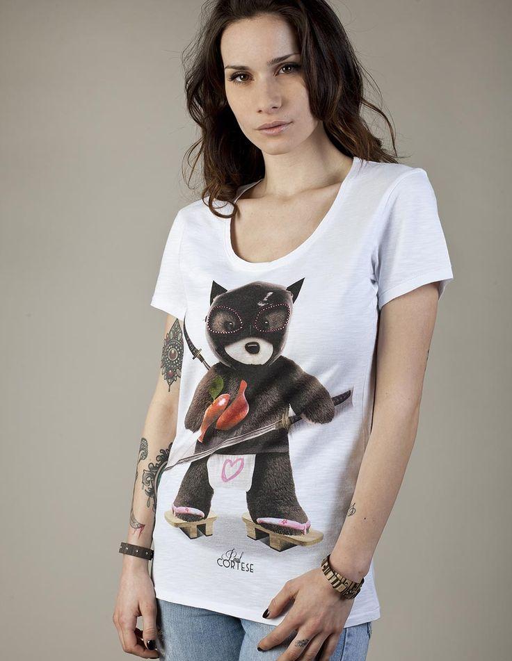 KILL BEAR #woman #tshirt #beartoys #style #fashion #moda #womenfashion #womenstyle #madeinitaly